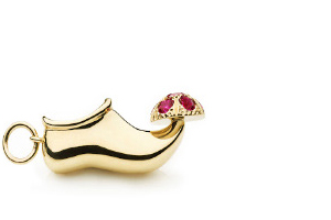 Enchanted Slipper Charm
